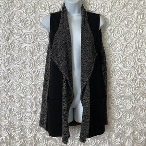 The Impeccable Pig | Marled Open Front Vest
